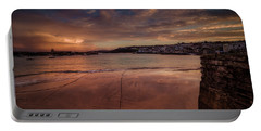 Harbour Sunset - St Ives Cornwall Portable Battery Charger