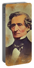 Hector Berlioz, Music Legend Portable Battery Charger