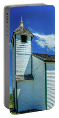 Historic Mcdougall Church, Morley, Alberta, Canada Portable Battery Charger