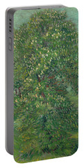 Horse Chestnut Tree In Blossom Portable Battery Charger