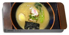 Japanese Miso Noodle Soup Portable Battery Charger