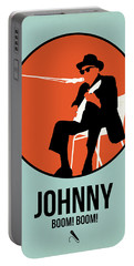 Johnny Poster 1 Portable Battery Charger