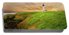 Lighthouse On  Yaquina Head  Portable Battery Charger