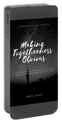 Making Togetherness Obvious Portable Battery Charger