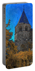 Medieval Bell Tower 6 Portable Battery Charger