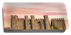 Medieval Castle Of Obidos Portable Battery Charger