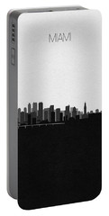Miami Cityscape Art V2 Portable Battery Charger
