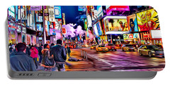 New York Times Square Portable Battery Charger