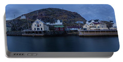 Norwegian Seaside Town Nyksund Portable Battery Charger