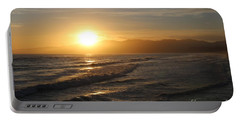 Pacific Sunset , Santa Monica, California Portable Battery Charger