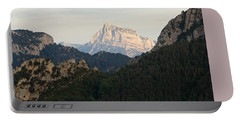 Portable Battery Charger featuring the photograph Pena Montanesa by Stephen Taylor