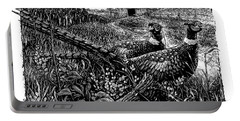 Pheasants Portable Battery Charger