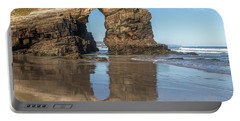 Playa De Las Catedrales - Spain Portable Battery Charger