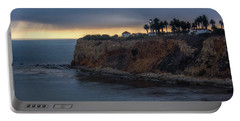Point Vicente Lighthouse At Sunset Portable Battery Charger