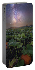 Portable Battery Charger featuring the photograph Pumpkin Patch  by Aaron J Groen