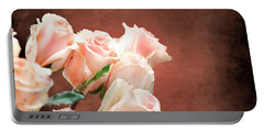 Roses Bouquet Portable Battery Charger