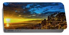Santa Monica Bay Sunset - 10.1.18 # 1 Portable Battery Charger