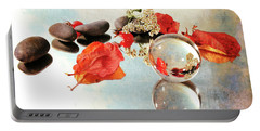 Portable Battery Charger featuring the photograph Seasons In A Bubble by Randi Grace Nilsberg