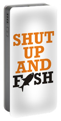 Shut Up And Fish 2 Portable Battery Charger