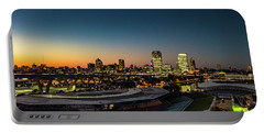 Portable Battery Charger featuring the photograph Summerfest Sunset by Randy Scherkenbach