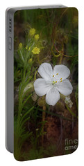 Portable Battery Charger featuring the photograph Sundew by Elaine Teague