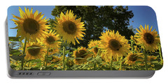 Sunlit Sunflowers Portable Battery Charger