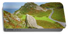 The Valley Of The Rocks Portable Battery Charger