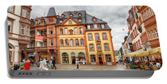 Trier, Germany,  People By Market Day Portable Battery Charger