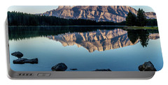 Two Jack Lake, Banff National Park, Alberta, Canada Portable Battery Charger