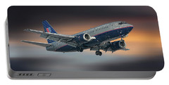 United Airlines Boeing 737-522 Portable Battery Charger