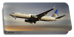 United Airlines Boeing 737-824 Portable Battery Charger