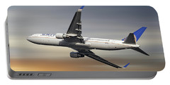 United Airlines Boeing 767-322 Portable Battery Charger