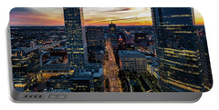 Portable Battery Charger featuring the photograph Wisconsin Avenue by Randy Scherkenbach