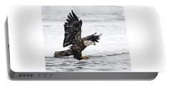 Young Bald Eagle Portable Battery Charger