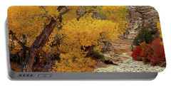 Zion National Park Autumn Portable Battery Charger