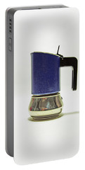 10-05-19 Studio. Blue Cafetiere Portable Battery Charger