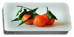 11--01-13 Studio. 3 Clementines Portable Battery Charger