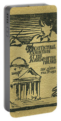 1894-95 Catalogue Of The Architectural Exhibition At The Pennsylvania Academy Of The Fine Arts Portable Battery Charger