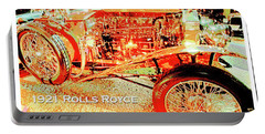 1921 Rolls Royce Classic Automobile Portable Battery Charger