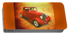 1934 Ford On Fire Portable Battery Charger