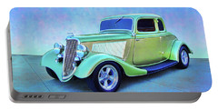 1934 Green Ford Portable Battery Charger