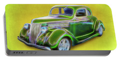 1936 Green Ford Portable Battery Charger