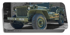 1942 Willys Gpw Portable Battery Charger