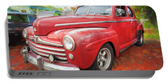 1947 Ford Super Deluxe Coupe 001 Portable Battery Charger
