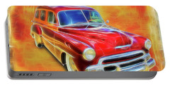 1951 Chevy Woody Portable Battery Charger
