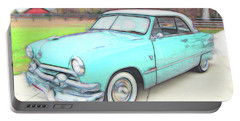 1951 Ford Portable Battery Charger