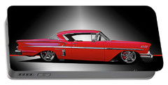 1958 Chevrolet Custom Impala Portable Battery Charger