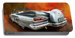 1959 Chevrolet Impala Convertible  Portable Battery Charger