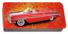 1959 Chevy Convertable Portable Battery Charger