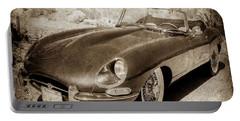 1963 Jaguar Xke Roadster-111scl Portable Battery Charger